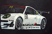 Gt3 Prints - Porsche GT3 RSR Print by Richard Le Page