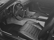 Hand Crafted Art - Porsche Interior by George Pedro