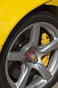Best Car Prints - Porsche Wheel Print by Jill Reger