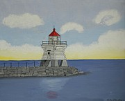 Clinton Originals - Port Clinton Ohio Light by Gordon Wendling