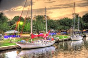 Boaters Prints - Port Fever Print by Barry R Jones Jr
