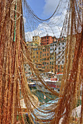 Genoa Framed Prints - Port of Camogli Framed Print by Joana Kruse