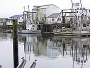 Enterprise Metal Prints - Port of Nahcotta Metal Print by Pamela Patch