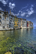 Rovinj Posters - Port of Rovinj Croatia Poster by Don Wolf