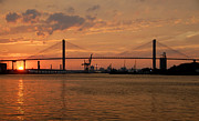 Spans Prints - Port Savannah Print by David Lee Thompson