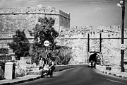 Old Roadway Photo Framed Prints - Porta Di Limisso Old Land Limassol Gate In The Old City Walls Famagusta Framed Print by Joe Fox