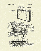 Outdoor Drawings - Portable Stove 1924 Patent Art by Prior Art Design