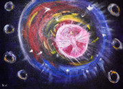 Prophetic Art Painting Originals - Portal by Denise Warsalla