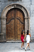 Fashion Art Acrylic Prints - Portal of the Iglesia de Nuestra Senora de la Pena de Francia Acrylic Print by Fabrizio Troiani