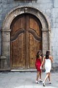 Portal Of The Iglesia De Nuestra Senora De La Pena De Francia Print by Fabrizio Troiani