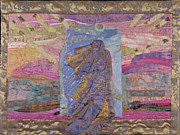 Spiritual Art Tapestries - Textiles Framed Prints - Portal Framed Print by Roberta Baker