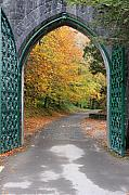 Portal To The Colorful Autumn Season Print by Pierre Leclerc Photography