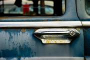 Old Car Door Photos - Portal by Wayne Stadler