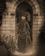 Haunted Mansion Photos - Portent of Death by Liezel Rubin