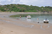 Beach Scenes Photo Originals - Porthmadog Bay by Harold Nuttall