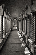 Franciscans Posters - Portico at the Franciscan Monastery in Washington DC Poster by William Kuta