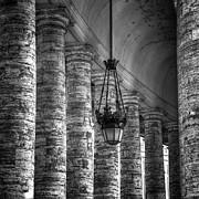 Columns Photo Metal Prints - Portico Metal Print by Joana Kruse