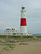 Seaside Posters - Portland Bill Lighthouse Poster by Rod Johnson
