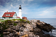 Jason Smith Prints - Portland Head Light Print by Jason Smith