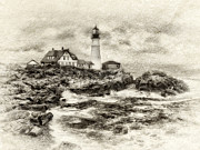 JHR  Photo ART - Portland Head Light