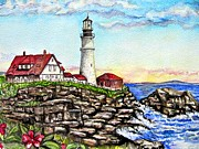 Pam Utton - Portland Head Lighthouse