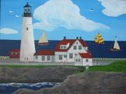 Susan Houghton Debus - Portland Headlight