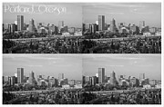 Portland  Oregon Print by Cathie Tyler