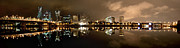 Willamette Prints - Portland Panorama Print by Brian Bonham