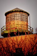 Rooftop Prints - Portland Water Tower III Print by Albert Seger