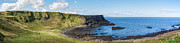 Causeway Coast Prints - Portnaboe Bay at Giants Causeway Print by Semmick Photo