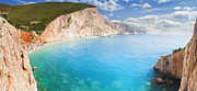 Y120831 Art - Porto Katsiki Panoramic by Elias Kordelakos Photography