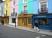 Store Fronts Photo Prints - Portobello Road Print by Devin Hyde