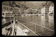 Portofino Italy Prints - Portofino Italy from Solway Maid Print by Dustin K Ryan