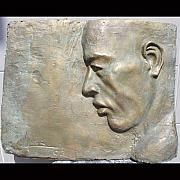 Featured Reliefs - Portrait 1 by Victor Amor