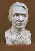 Education Sculptures - Portrait Bust Of Rudolf Steiner by David Dozier