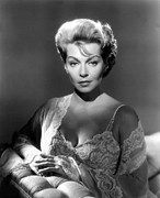 1960 Movies Prints - Portrait In Black, Lana Turner, 1960 Print by Everett
