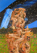 Photography Painting Originals - Portrait In Landscape With Stars by JC Armbruster