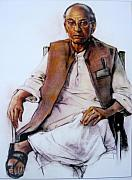 S Viswakarma - Portrait of a old man