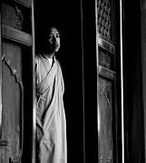 Portrait Of A Shaolin Monk Print by Dean Harte