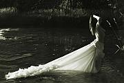 Trash The Dress Photos - Portrait of a Woman by Jan Piller