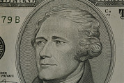 Money Posters - Portrait Of Alexander Hamilton Poster by Joel Sartore