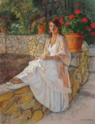 Ladies Originals - Portrait of Alitta by Sue Halstenberg