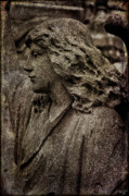 Statue Portrait Digital Art Prints - Portrait of an Angel Print by Chris Lord