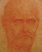 Famous Pastels Originals - Portrait of an Artist by Gary Kaemmer