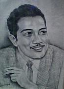 Etc. Drawings - Portrait of an artist by Suhaimy Abdullah