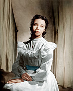 Ev-in Photo Metal Prints - Portrait Of Jennie, Jennifer Jones, 1948 Metal Print by Everett
