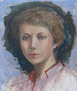 Commision Art - Portrait of Linda by Jeannette Ulrich