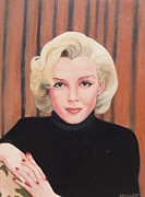 Barbara Barber - Portrait of Marilyn