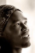 Isaac Silman - portrait of Sudanic