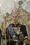 Aristocracy Photos - Portrait Of The Shah Of Iran Taken by James L. Stanfield